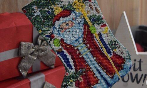 МК рождественский сапог